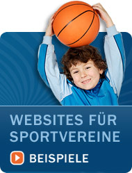 Websites für Sportvereine